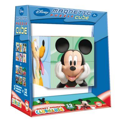 Пъзел магнитни кубчета - Мики Маус