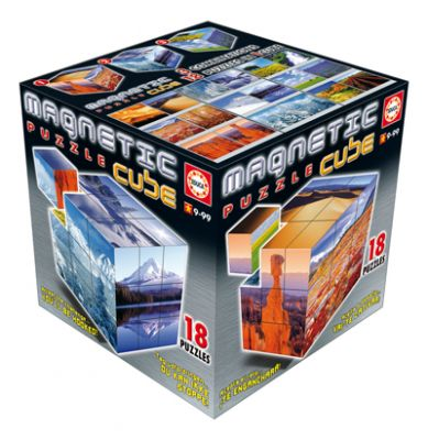 Пъзел магнитни кубчета - Пейзажи