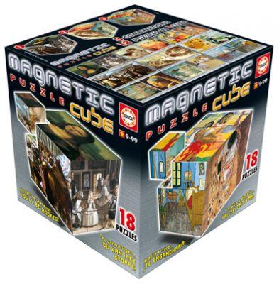 Пъзел магнитни кубчета - Произведения на изкуството