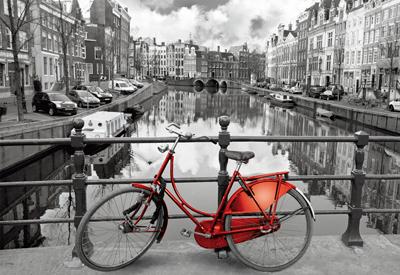 Картонен пъзел Амстердам
