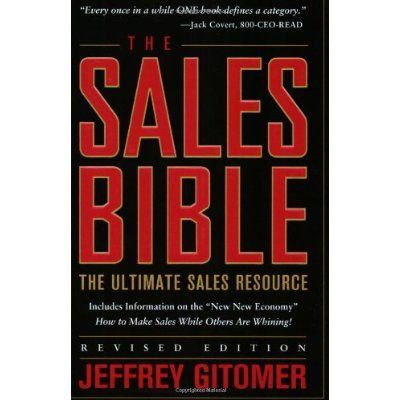 The Sales Bible: The Ultimate Sales Resource, Revised Edition [Paperback]
