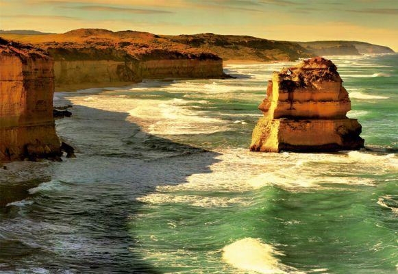 """Картонен пъзел """"Океански маршрут, Австралия"""" - 1000 части"""