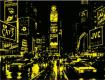 """Светещ картонен пъзел """"Таймс Скуеър"""" - 1000 части"""