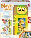"""Пъзел за най-малките """"Магичен пъзел"""" - игра за сглобяване, за деца от 1 до 3 години"""