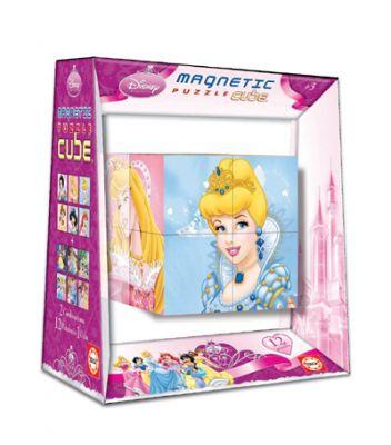 Пъзел магнитни кубчета - Принцеси