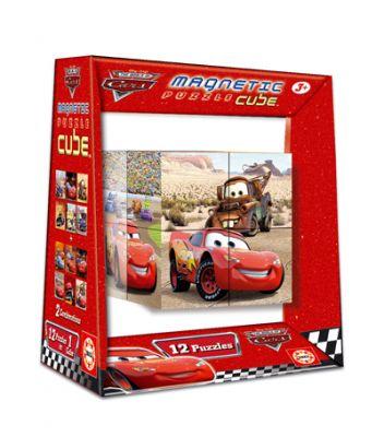 Пъзел магнитни кубчета - Cars