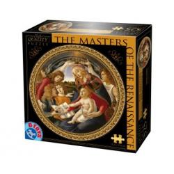 """Картонен пъзел """"Madonna of the Magnificat"""" от Ботичели"""
