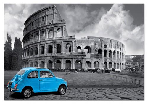 Миниатюрен картонен пъзел Колизеумът, Рим