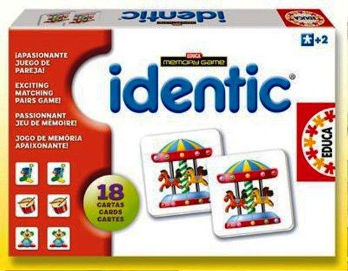 """Игра с карти """"IDENTIC Memory - запомни двата обекта"""", за деца от 2 до 4 години"""