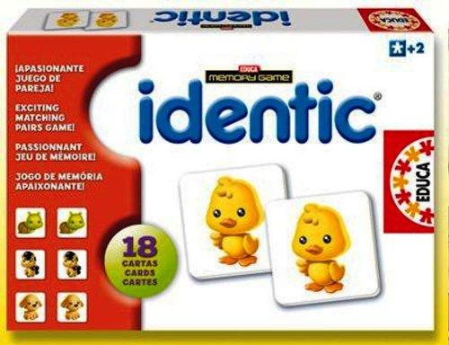 """Игра с карти """"IDENTIC Memory - ЖИВОТНИ"""", за деца от 2 до 4 години"""